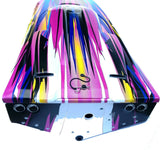 Spartan Boat HULL & Hatch Cover (PINK graphics) Factory painted Traxxas 5707