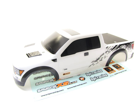 Savage Mini XS FORD F-150 SVT RAPTOR BODY Shell (Cover & Decals Flux ss 115125