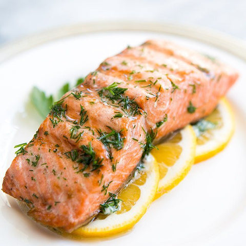 Creamy Baked Salmon with Herbs recipe