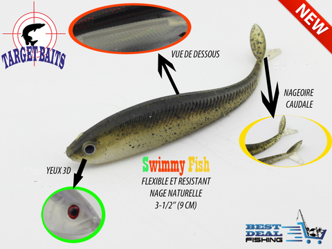 swimmy fish best deal fishing target bait