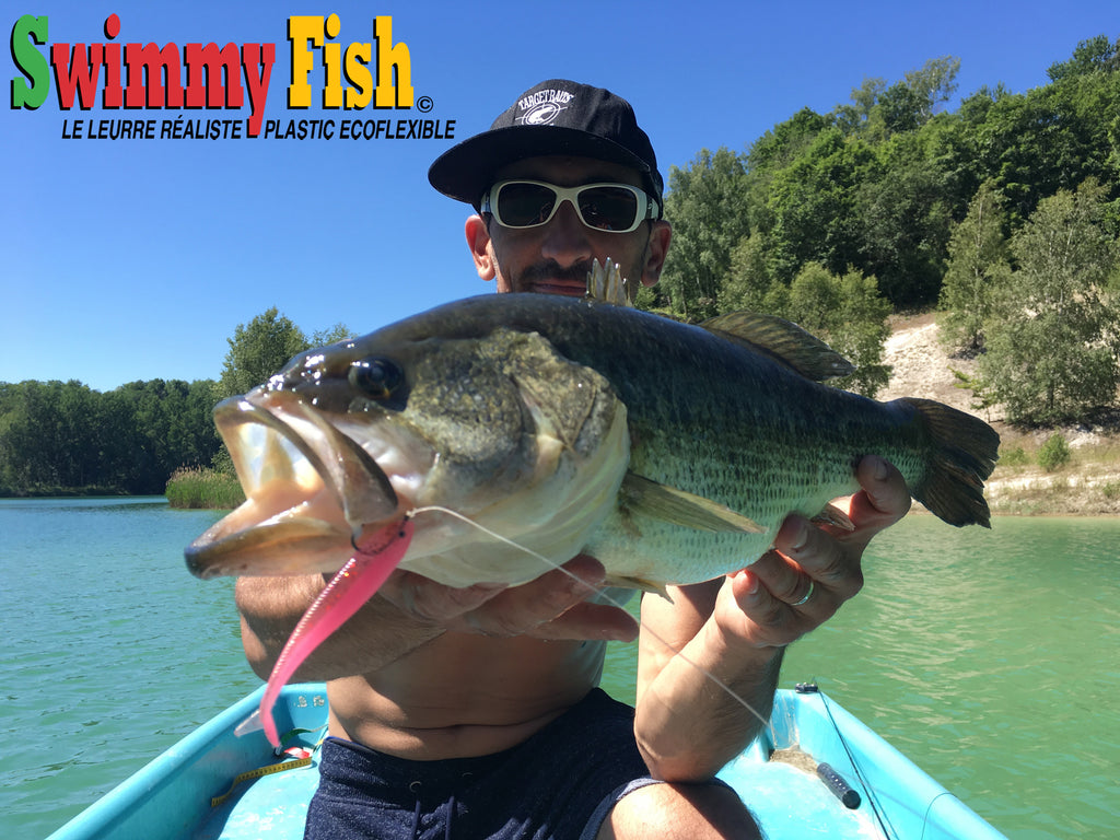achigan au swimmy fish grande bouche du quebec