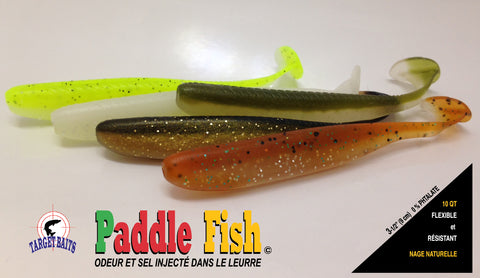 paddle fish lure fishing bait