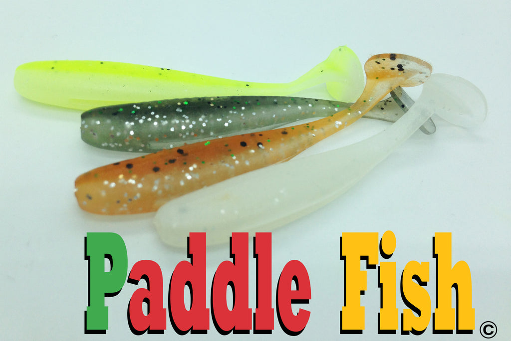 Paddle fish from target baits lures canada