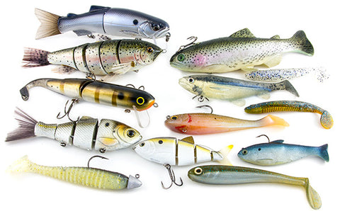 swimbaits variety