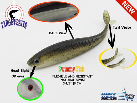 Swimmy fish soft bait