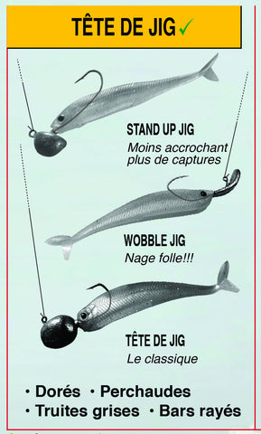 stand up jig less jam more catches