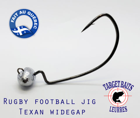 "RUGBY FOOTBALL JIG ""ANTI-HERBE"" WIDEGAP"