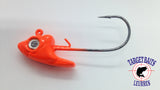 Swimbait Head Jig Painted + Wire Holder