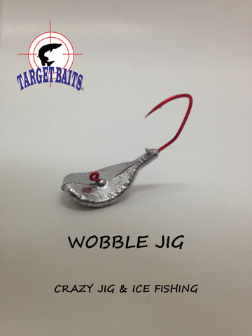 WOBBLE JIG : 1/4 - 3/8 Oz (nage planante et erratique)