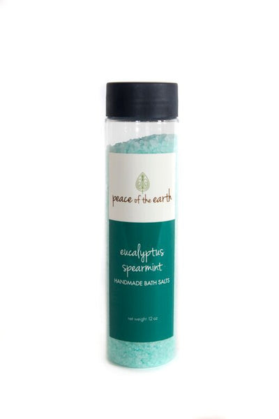 Eucalyptus Spearmint Bath Salts - Peace of the Earth