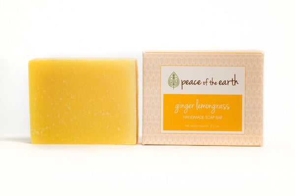 Ginger Lemongrass Bar Soap - Peace of the Earth