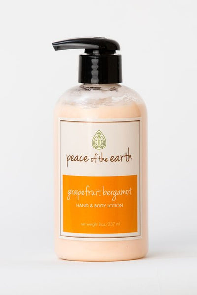 Grapefruit Bergamot Hand and Body Lotion - Peace of the Earth