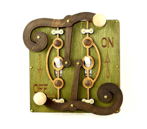 Double Fulcrum Light Switch Plate