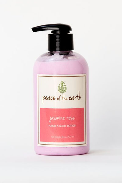 Jasmine Rose Hand and Body Lotion - Peace of the Earth