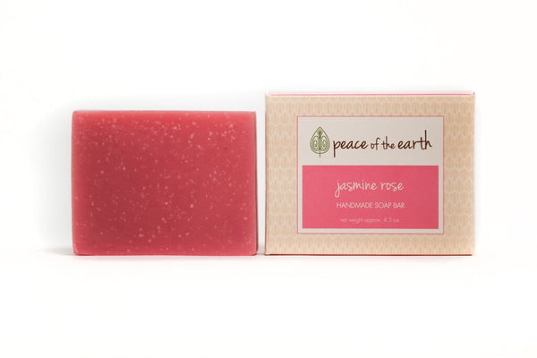 Jasmine Rose Bar Soap - Peace of the Earth