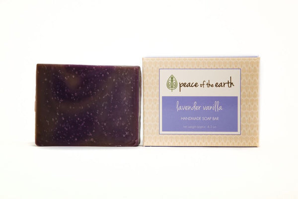 Lavender Vanilla Bar Soap - Peace of the Earth