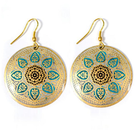 Matsya Earrings - Peace of the Earth
