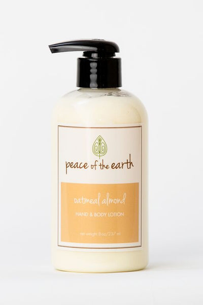 Oatmeal Almond Hand and Body Lotion - Peace of the Earth