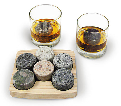 On the Rocks Tray with Tumblers - Peace of the Earth