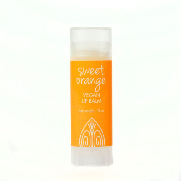 Sweet Orange Vegan Lip Balm - Peace of the Earth