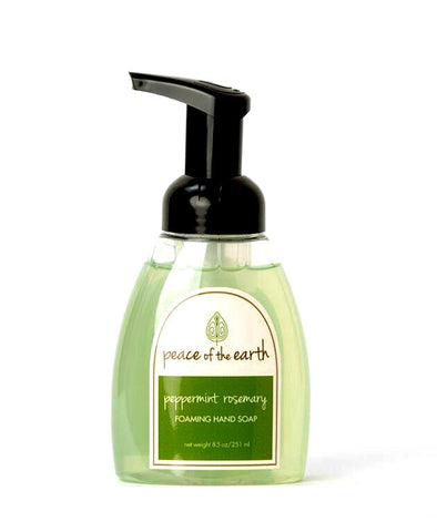 Peppermint Rosemary Foaming Hand Soap - Peace of the Earth