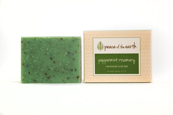 Peppermint Rosemary Bar Soap - Peace of the Earth
