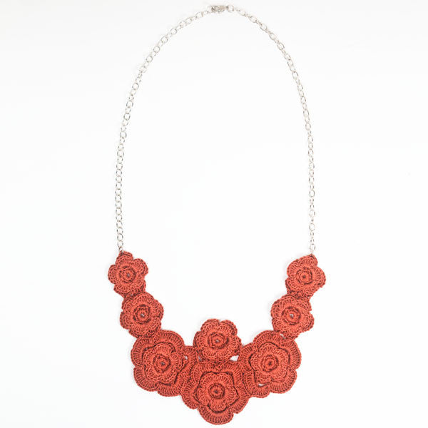 Poppy Field Necklace - Peace of the Earth - 2