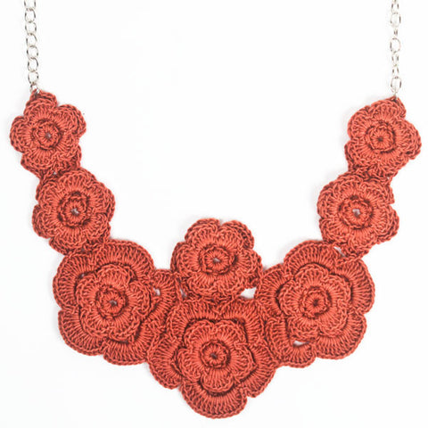 Poppy Field Necklace - Peace of the Earth - 1