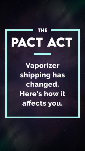 """In 2021, the """"Prevent All Cigarette Trafficking"""" Act was introduced to prevent kids getting hold of nicotine vaping devices. But this broad set of laws affect how all vaporizer retailers and manufacturers ship their products, regardless of whether they're destined for adult users, or whether they're designed to deliver nicotine or other herbal concentrates."""