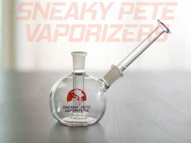The Sneaky Pete Globe Glass Mouthpiece