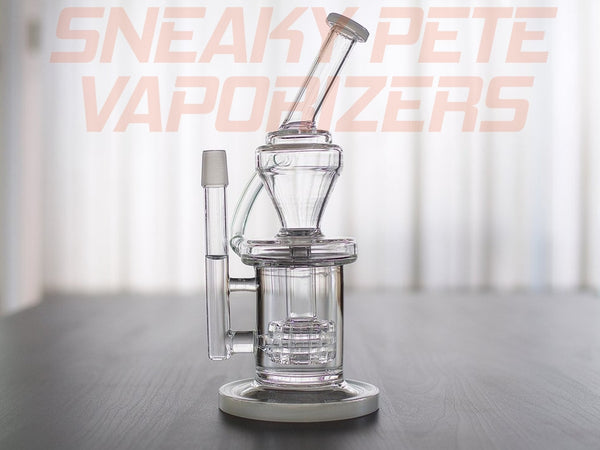 The Chugger - Glass Recycler - 18mm Male Joint,Glass Piece - www.sneakypetestore.com