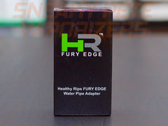 Fury Edge Water Pipe Adapter by Healthy Rips,Glass - www.sneakypetestore.com