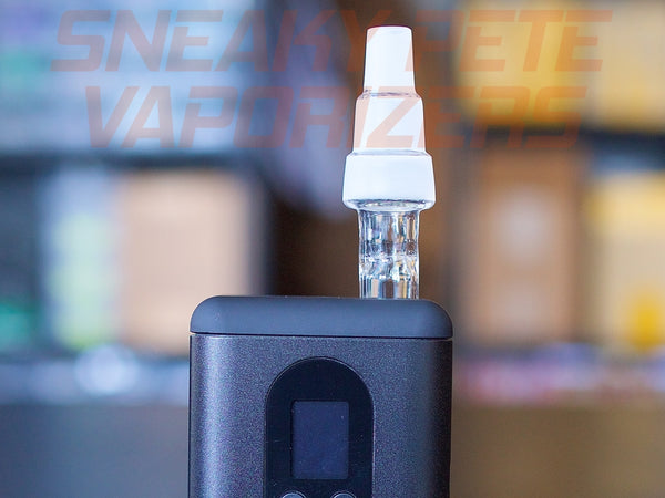 Arizer Go (ArGo) 3-In-1 Water Pipe Adapter,Glass - www.sneakypetestore.com