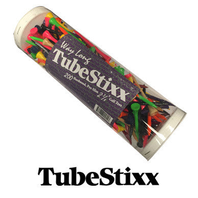 "2 3/4"" TUBEStixx™ Way LONG Golf Tees"