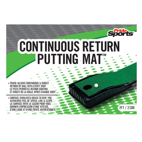 Continuous Return Putting Mat