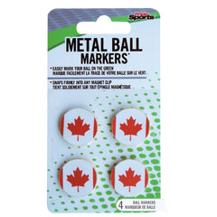 Metal Ball Markers- Canadian