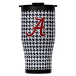 Alabama 27oz Chaser Houndstooth Black Lid