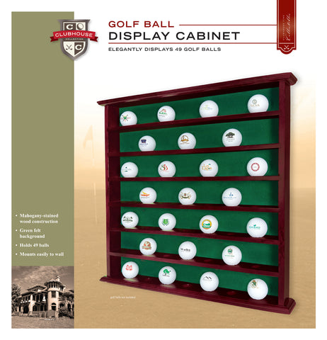49 Ball Cabinet Without Glass Door