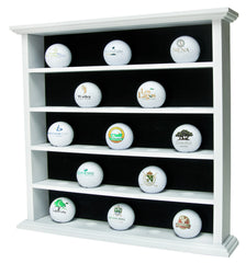 White 25 Ball Cabinet