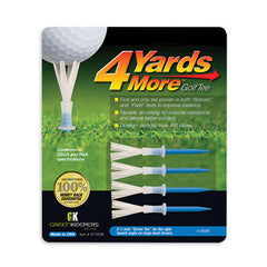 "4 Yards More™ 3 1/4"" Tees"