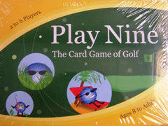 Play Nine Deluxe Card Game