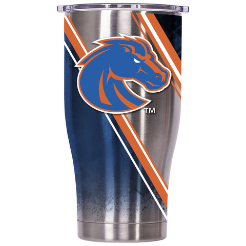 Boise State Double Stripe Wrap 27oz Chaser