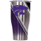 Kansas State Double Stripe Wrap 27oz Chaser