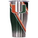 Miami Double Stripe Wrap 27oz Chaser