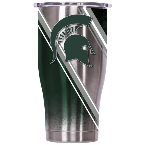 Michigan State Double Stripe Wrap 27oz Chaser