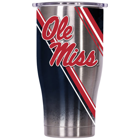 Ole Miss Double Stripe Wrap 27oz Chaser