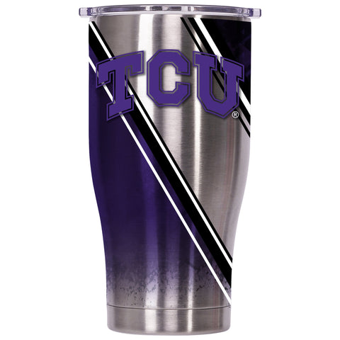Texas Christian University Double Stripe Wrap 27oz Chaser