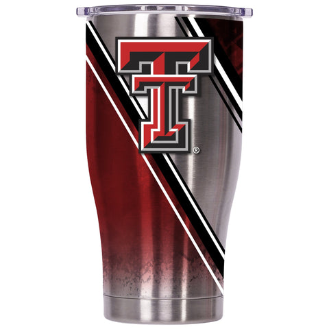 Texas Tech Double Stripe Wrap 27oz Chaser