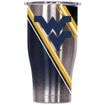 West Virginia Double Stripe Wrap 27oz Chaser