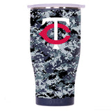 Minnesota Twins Digital Camo Chaser 27oz Navy/White